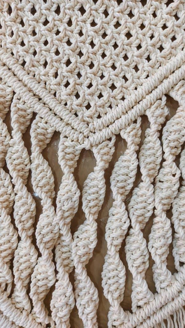 Macrame Tapestry detail