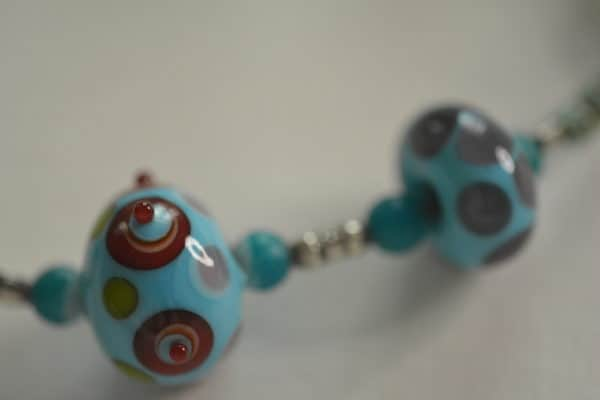 Stacked Dots on Beads