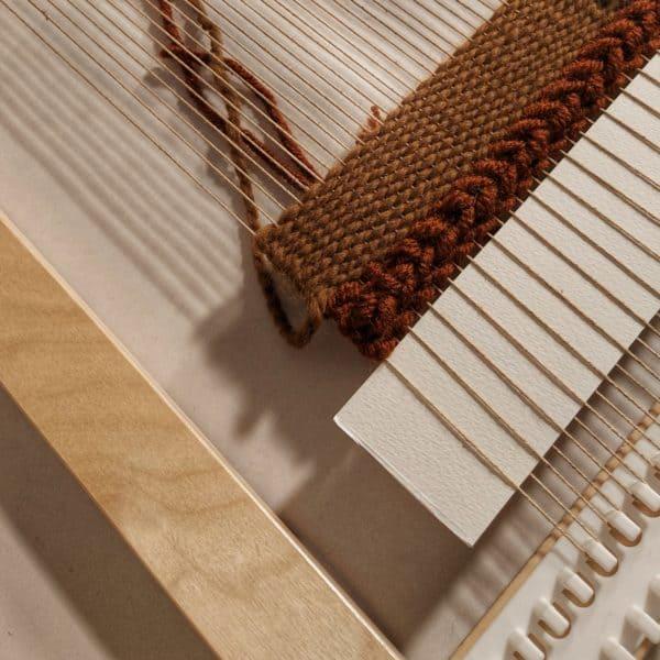 Modern Weaving on a loom